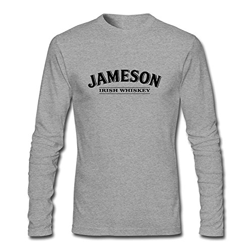 brand-new-danielrauda-mens-jameson-beer-long-sleeve-t-shirt-grey