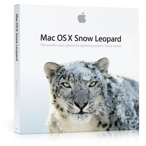 Mac OS X version 10.6.3 Snow Leopard (Mac computer with an Intel processor required) (Ios Software compare prices)