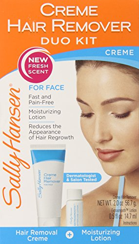 Sally Hansen Cream Hair Remover Kit (Face Wax For Women compare prices)