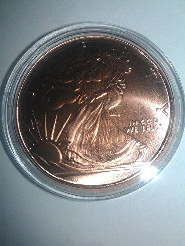 One (1) Ounce .999 Fine Copper Round: Walking Liberty - 1