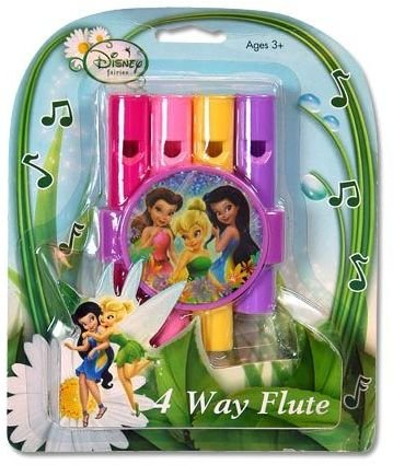 Disney Fairies 4 Way Musical Flute - 1