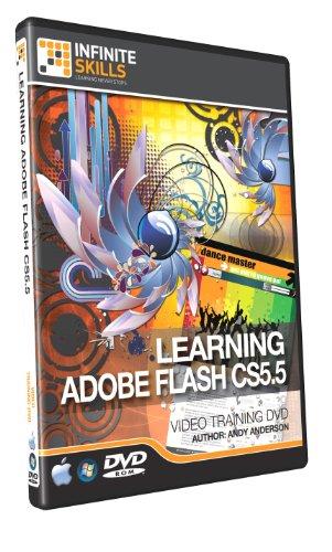 Beginners Adobe Flash CS5.5 - Training DVD, 10 Hours +