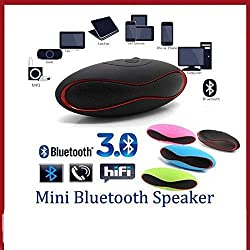 Unifree Mini Rugby style Bluetooth Speakers( Assorted Colour)