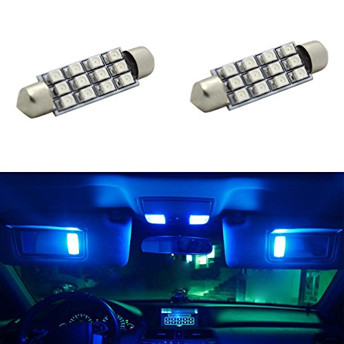 Partsam For 1998 2013 Ford F 150 2 X Car Dome 3528 Smd Led Canbus Bulb Light Interior Festoon