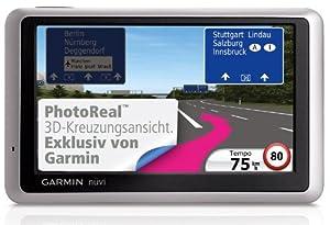 Garmin nüvi 1340T CE Navigationssystem 10,9cm (4,3 Zoll), Zentraleuropa 22 Länder, TMCpro, Fahrspurassistent, Text-to-Speech, ecoRoute, echte FußgängerNavigation)