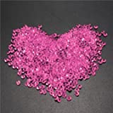 1000pcs 4.5mm Table Crystal Diamond Acrylic Crystals Diamonds Wedding Party Decoration-Rose