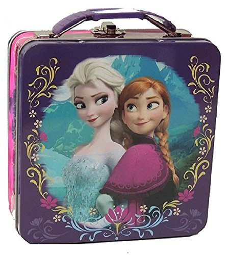 Disney Frozen Elsa & Anna Tin Box Lunch Box