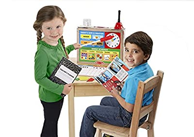 Melissa & Doug School Time! Classroom Play Set from Melissa & Doug