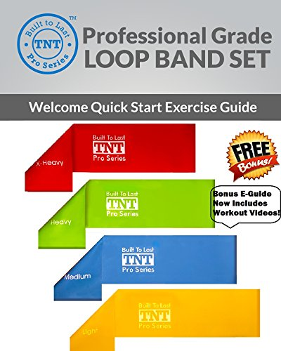 Exercise Bands Names: TNT Pro Series Exercise Loop Bands: Extra Wide Extra Long