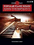 Popular Piano Solos: John Thompson's Adult Piano Course - Book 2 (Book/Online Audio) (Piano Adventures)