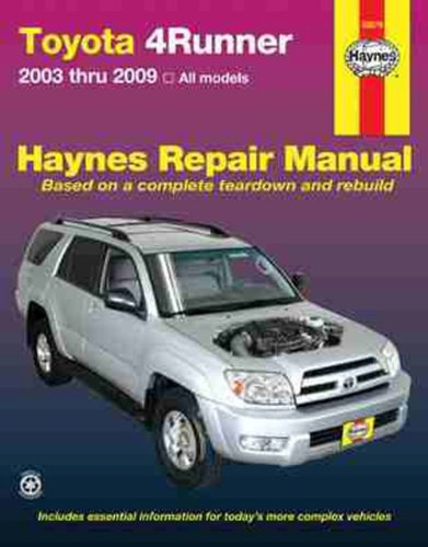 51gpXVFh6tL toyota 4runner, 2003 2009 (haynes repair manual)motor books online  at bakdesigns.co