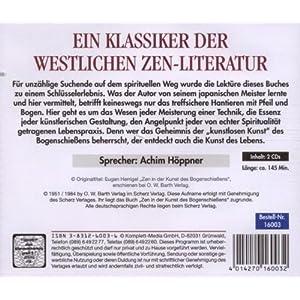 Zen in der Kunst des Bogenschießens. 2 CDs.