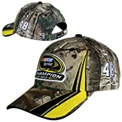 2013 Sprint Cup Champion Championship Hat Jimmie Johnson #48 Camo Camoflague Hat Cap... by NASCAR