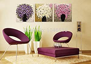fashiontopdearls gerahmt diy digital malen nach zahlen blumen motiv bilder zur dekoration 3. Black Bedroom Furniture Sets. Home Design Ideas