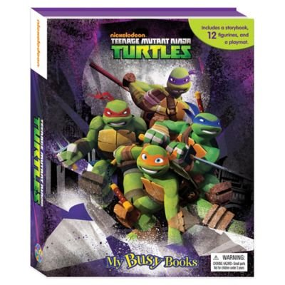 Nickelodeon Teenage Mutant Ninja Turtles My Busy Book - 1