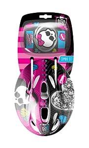 Monster High K130506- Set casco y rodilleras/coderas