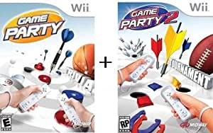 Wii Game Party 1 + Game Party 2 Bundle [Nintendo Wii]