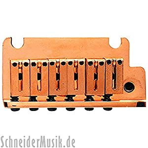 Fender 099-2050-200 Electric Guitar Bridge American Series Stratocaster Tremolo Bridge Assembly - Gold