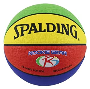 Spalding Rookie Gear Basketball (Multi-Color)