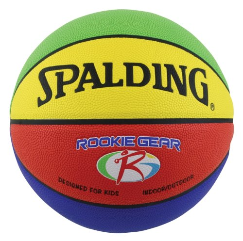 Spalding Rookie Gear Basketball - Multi-Color - Youth Size 275