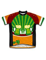 St. Patrick's Day Lucky Goods Short Sleeve Cycling Jersey for Women