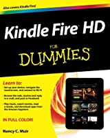Kindle Fire HD For Dummies, 2nd Edition Front Cover