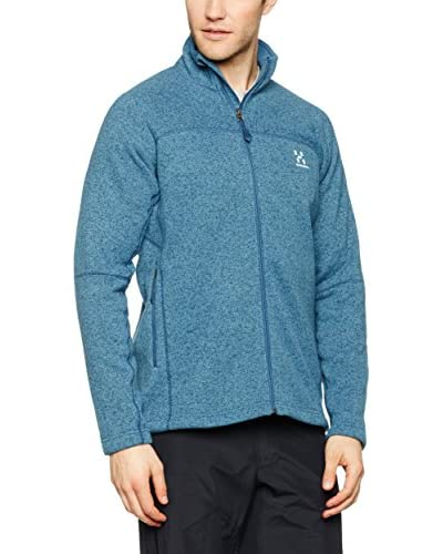 Haglöfs Chaqueta Mid Layer Fleece Swook Azul Claro
