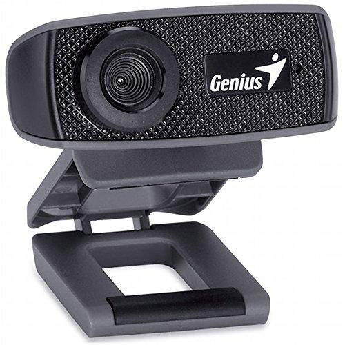 Genius Facecam 1000X Webcam HD, USB 2.0, Uvc/Mic, Nero