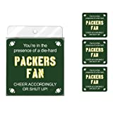 Tree-Free Greetings NC38118 Packers Football Fan 4-Pack Artful Coaster Set at Amazon.com