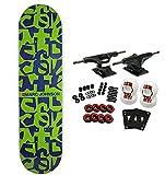 CHOCOLATE Complete Skateboard POP SECRET FIBER LAM Johnson Deconstruct 8.12