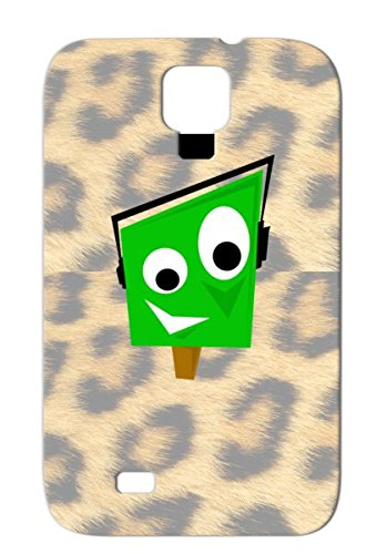 Greeny Green Tags Rock Characters Music Miscellaneous Music Earphones Black Brown Cover Case For Sumsang Galaxy S4