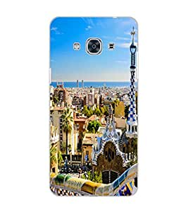 SAMSUNG GALAXY J3 PRO CITY VIEW Back Cover by PRINTSWAG