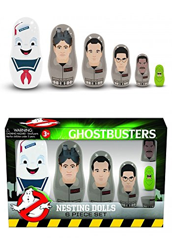 Ghostbusters 2-4.5 inch Nesting 6-piece Doll Set