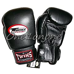 Buy 10 oz. Twins Sparring Gloves - Black by Twins Special