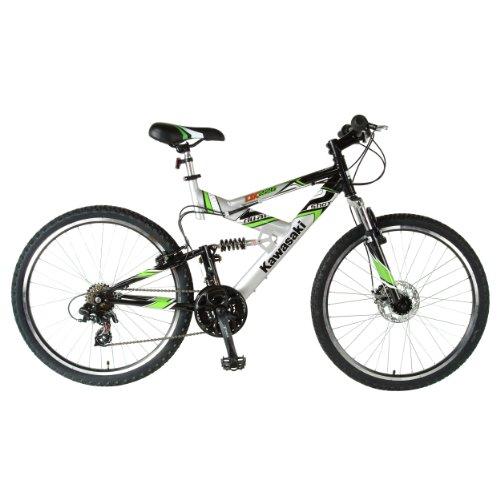Kawasaki DX226FS 26-Inch Dual Suspension Mountain Bike