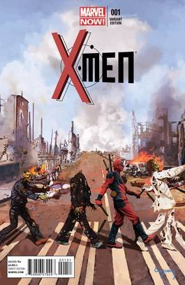 X-Men #1 Deadpool Variant Marvel Now 2013 back-308661