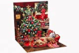 3D Greeting Card - Holiday Room