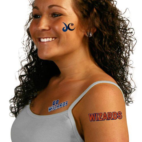 NBA Washington Wizards Temporary Tattoos
