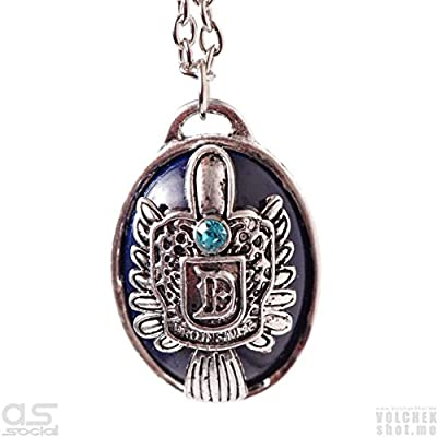 Inspired by the Vampire Diaries Damon Salvatore Damon's Family Crest Pendant Necklace +FREE JEWELRY BOX