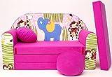 H16�+ ni�os Bar Dormir emergente sof� sof� sof� Mini sof� 3�en 1�Baby Set +�-�Sill�n infantil y asiento coj�n + colch�n