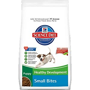 Hill's Science Diet Puppy Healthy Development Small Bites Dry Dog Food, 15.5-Pound Bag