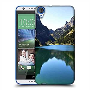 Snoogg Green River Designer Protective Phone Back Case Cover For HTC Desire 820