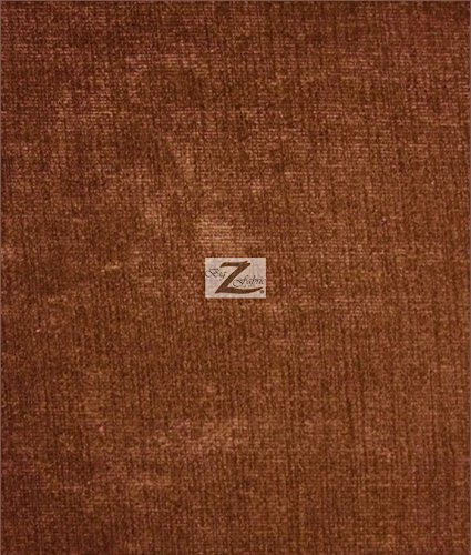 SOLID CORDUROY FABRIC - Brown - 60
