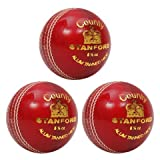 SF County Cricket Ball(Red)