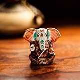 ExclusiveLane Meenakari Lord Ganesha Handenamelled In Metal