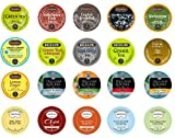 Crazy Cups Tea Deluxe Sampler Pack for Single-cup coffee for Keurig K-Cup Brewers, (20 K-Cups)