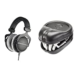beyerdynamic DT 770 Pro 80 ohm Studio Headphones Bundle with Headphone Case