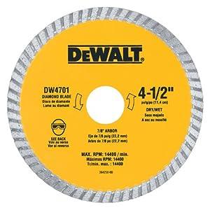 Dewalt Dw4701 Industrial 4 1 2 Inch Dry Or Wet Cutting