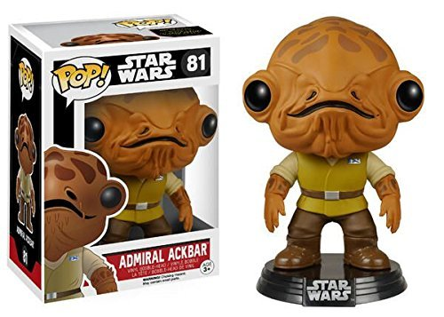 Funko POP! Star Wars: Episode 7 The Force Awakens - Admiral Ackbar Action Figure