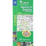 Topographische Sonderkarten Niedersachsen. Sonderblattschnitte auf der Grundlage der amtlichen topographischen Karten, meistens grösseres ... Wanderkarten 1:25000 (W) / Wandern im Deister